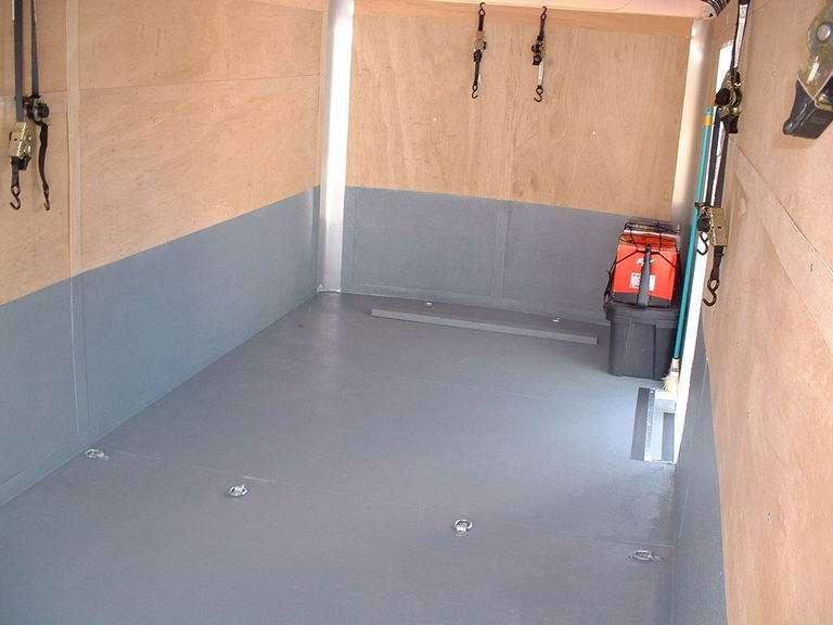 Cargo Trailer Flooring Ideas Designs