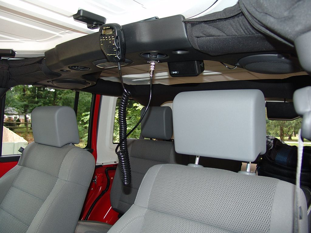 Another Cobra 75 Mounting Location The Top 1998 Explorer Wiring Speakers